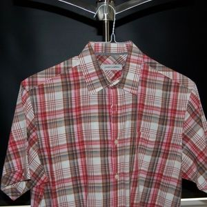 James Campbell Short-Sleeve Button-Down